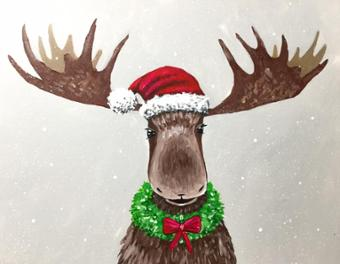 Merry Chris Moose