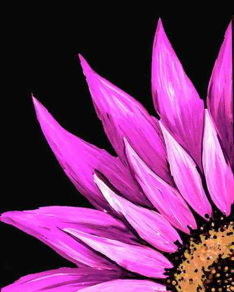 Pink Flower for Breast Cancer